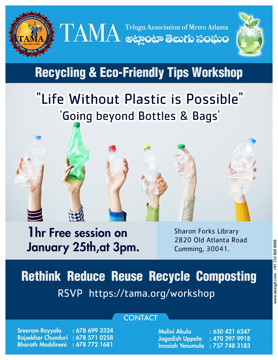 Recycling and Eco-Friendly Tips Workshop