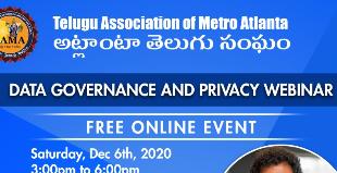 TAMA Data Governance and Privacy Webinar