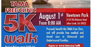 TAMA Free Clinic 5k Walk