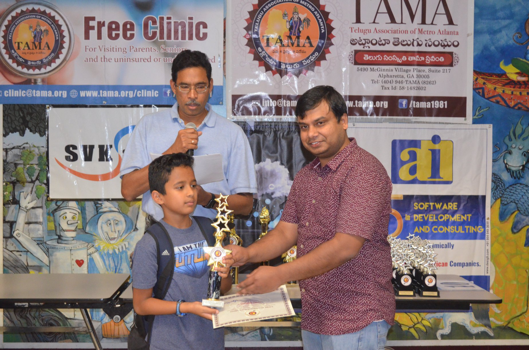 TAMA- Allied Informatics Chess Tournament